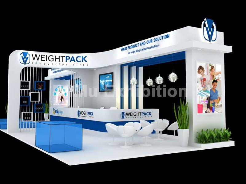 泰国包装展展台设计