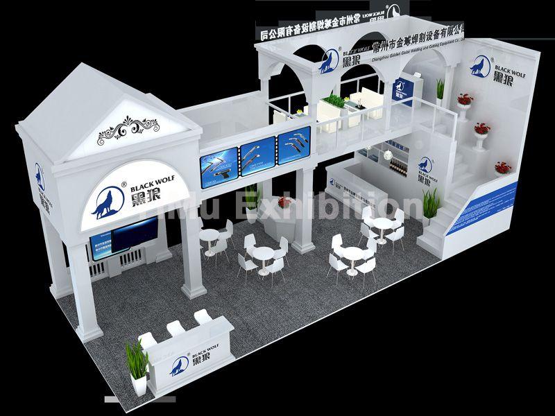 中国焊接博览会展台设计搭建