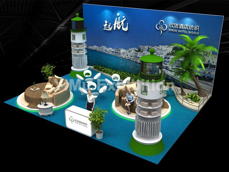 上海酒店用品展展台设计搭建|上海展台搭建|上海展台设计