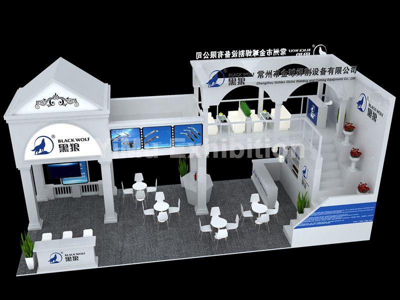 中国焊接博览会展台搭建