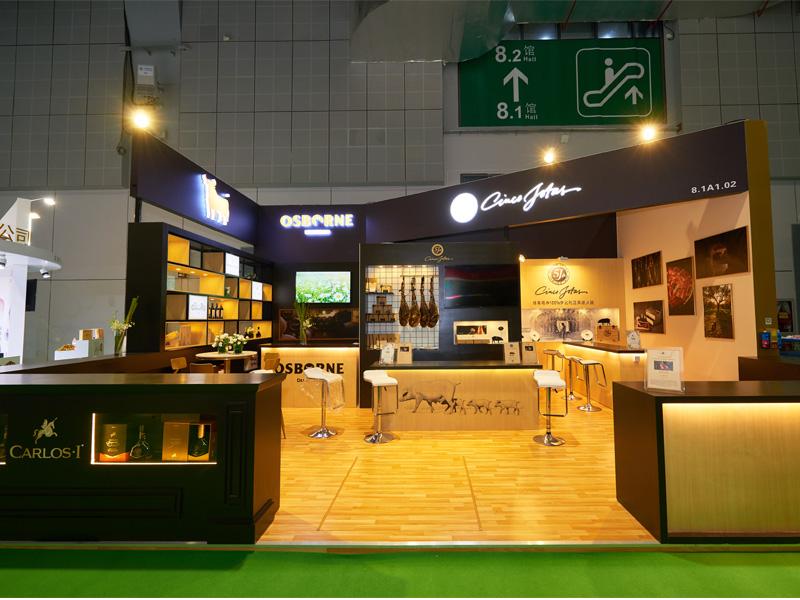 依木展览-进博会指定搭建商-上海展台设计搭建