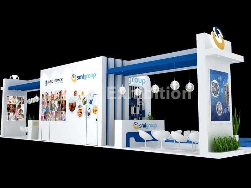 泰国包装展展台设计搭建