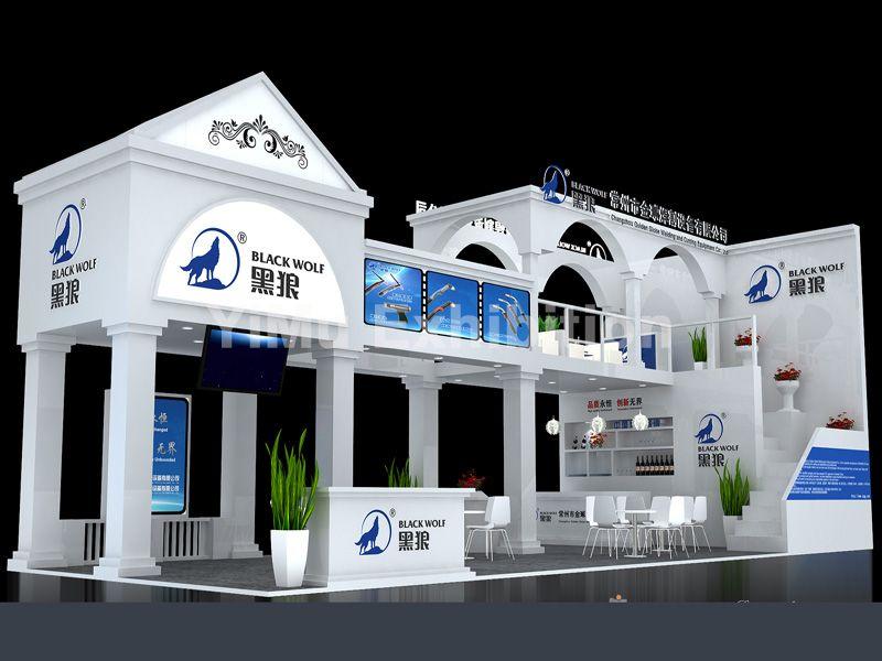 中国焊接博览会展台设计搭建|上海展位装修|上海展览公司