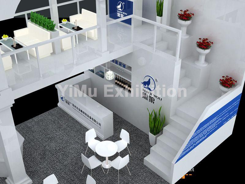 中国焊接博览会展位装修