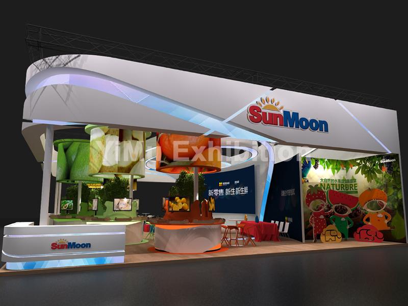 依木展览|香港展览公司|香港展台设计搭建|香港展位装修
