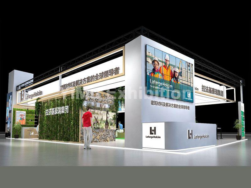 建博会展台设计
