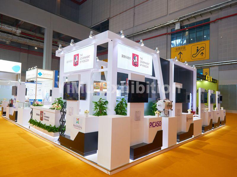进博会展台设计搭建-上海展览公司-上海展台设计搭建