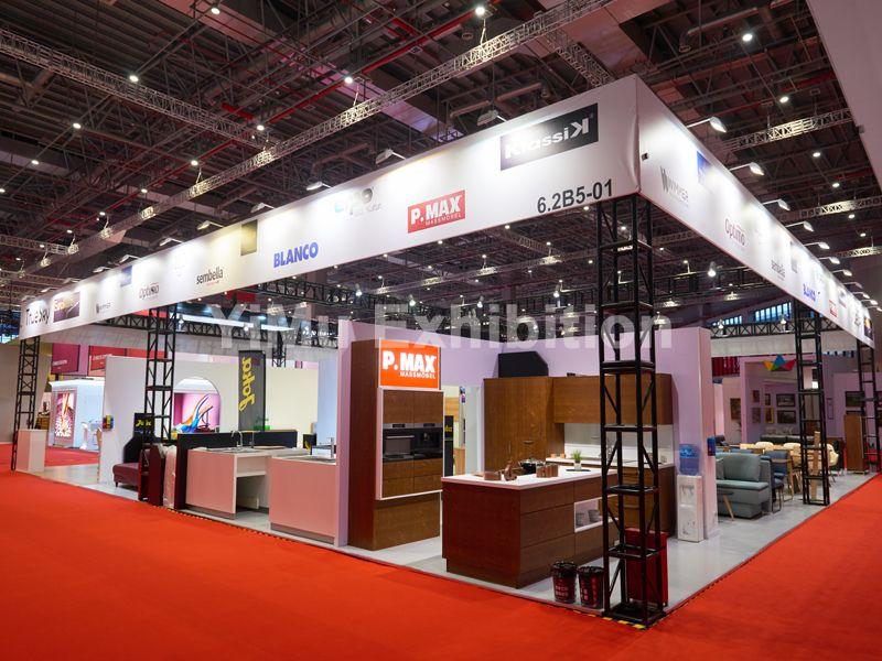 上海展台设计搭建-上海展览公司-进博会指定搭建商