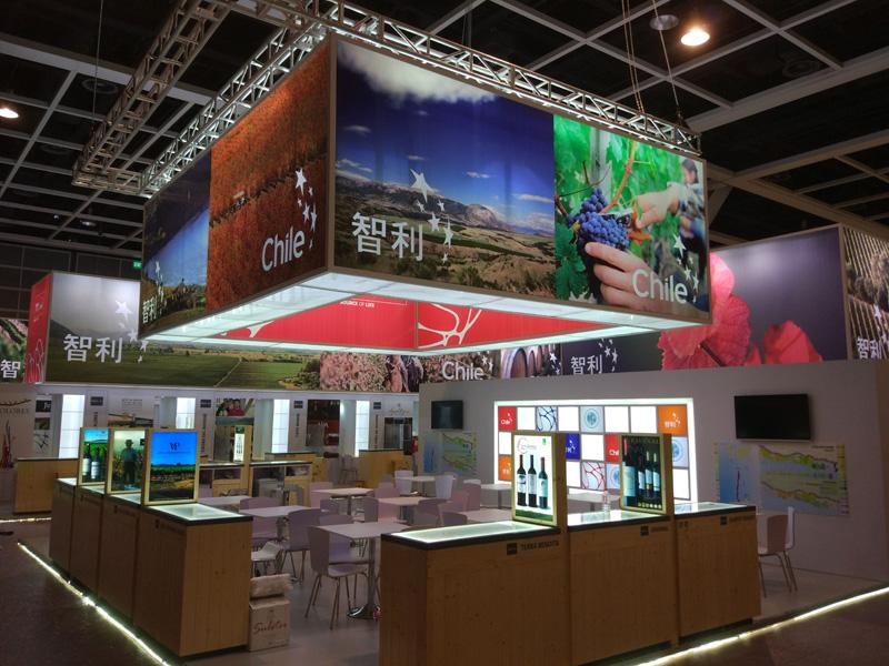 香港展台搭建-香港展览公司-依木展览