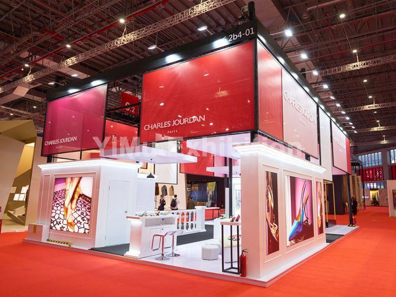 高端展台设计搭建_依木展览_免费提供设计方案