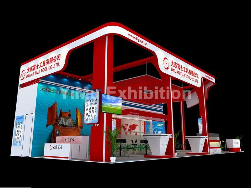 深圳机械展SIMM展台设计搭建|深圳展览公司|深圳展台搭建