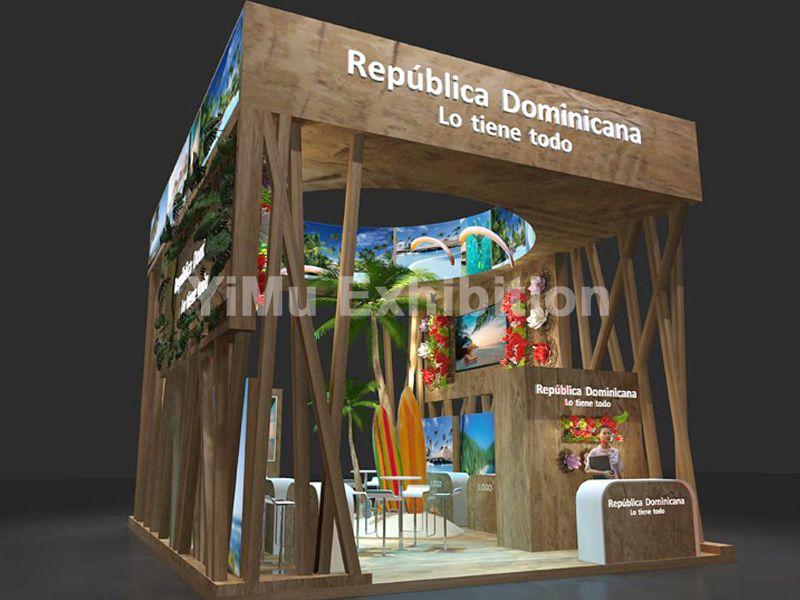 深圳国际旅游博览会展台设计|深圳展览公司|深圳展台设计