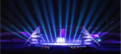 上海展台设计搭建中应该如何正确使用灯光?